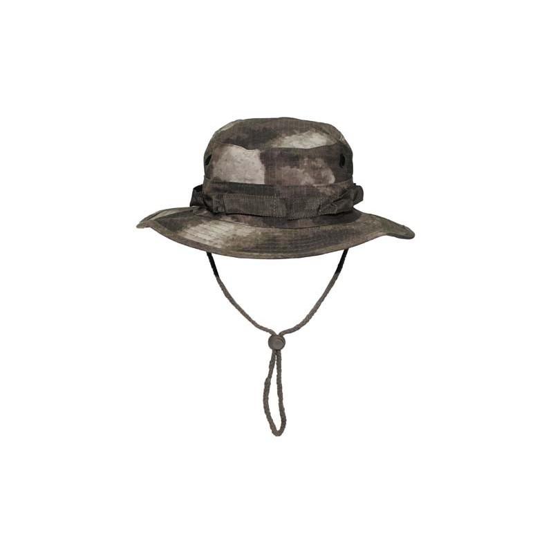 US GI Bush Hat, Rip Stop, chin strap, HDT camo