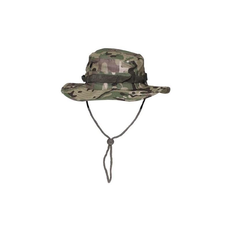 US GI Bush Hat, Rip Stop, chin strap, operation camo