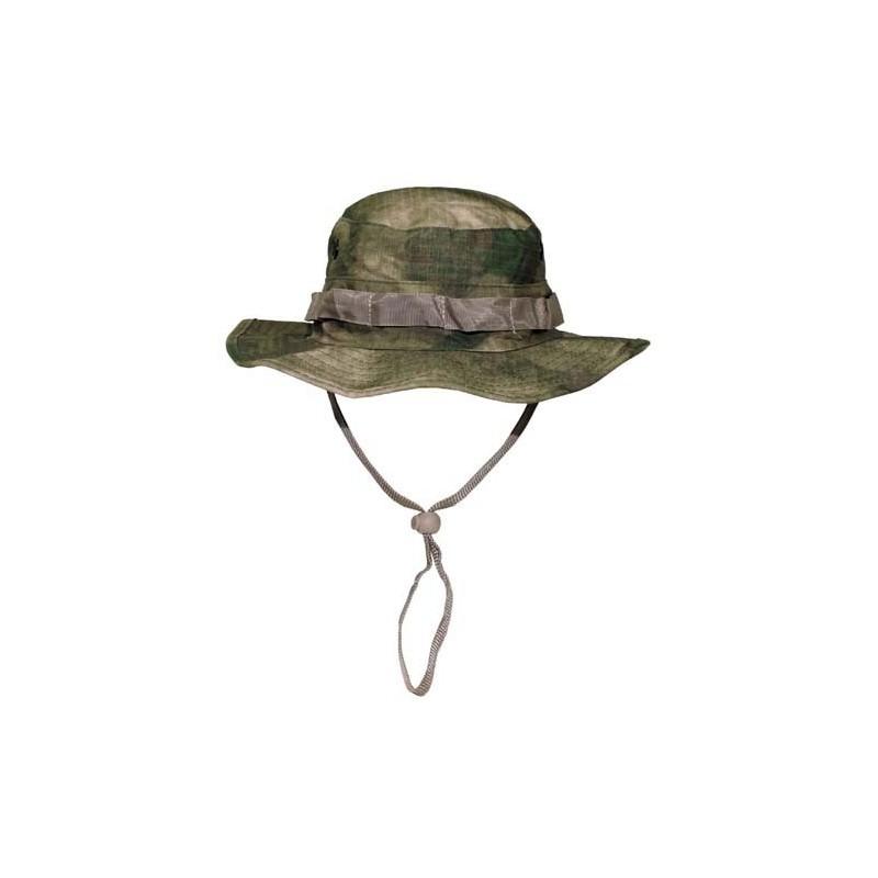 US GI Bush hat nööriga, HDT camo green