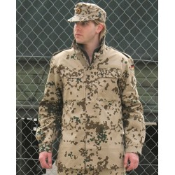 Бундесвер куртка, BW тропический камуфляж, использовать