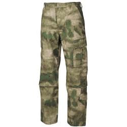 US брюки, ACU, Ripstop, HDT camo green