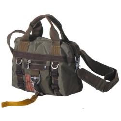 """Bag, nylon""""PT"""", OD green, carabiner"""