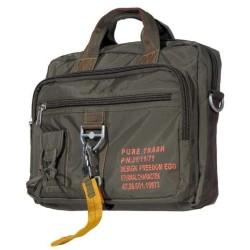 "Bag, nylon""PT"", OD green, big, carabiner"