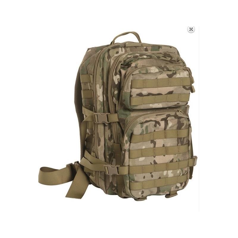 Backpack US assault large, Multitarn