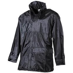 Дождь куртка, черный