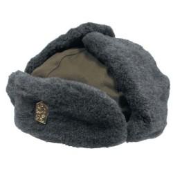 Чехословацкий зимняя шапка, зеленый OD