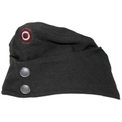 AT Cap, grey, with badge 10 pcs