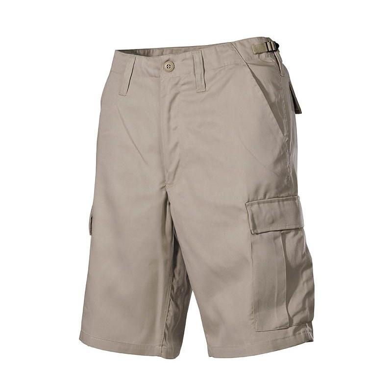 US BDU Bermuda, khaki, cargopockets