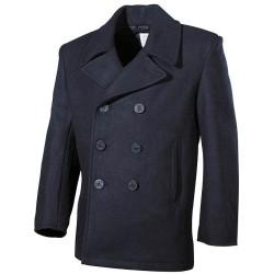 US Pea Coat, mereväe mantel - sinine
