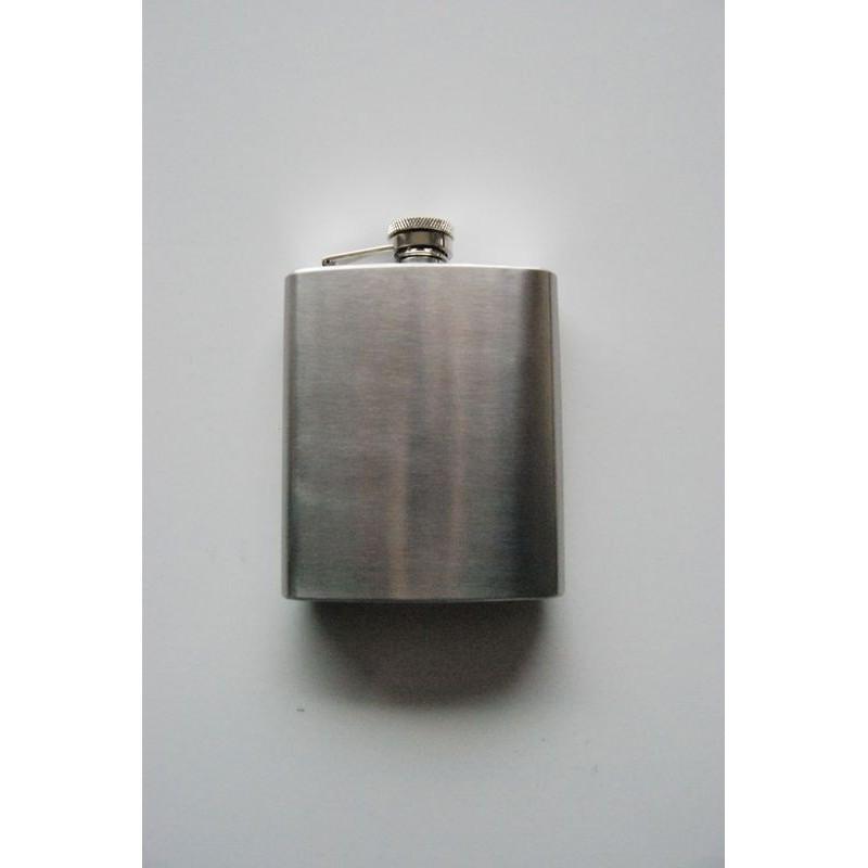 Steel Flask, stainless steel, chrome matte, 225 ml