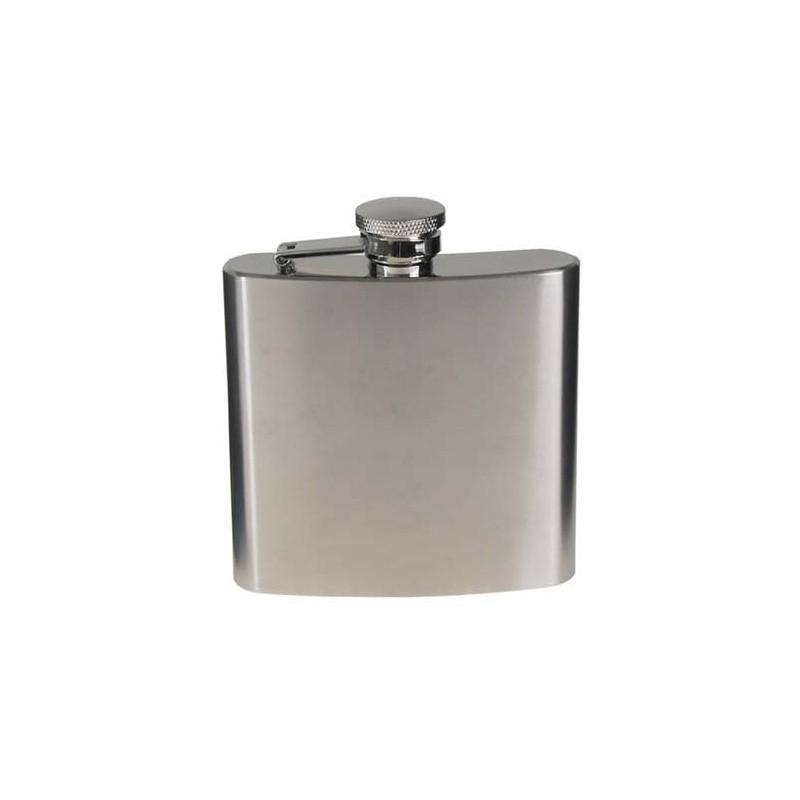 Steel Flask, stainless steel, chrome matte, 170 ml