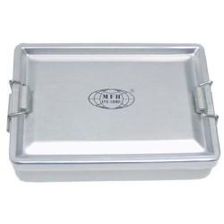 Коробка, алюминий, водонепроницаемый, серебро