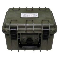 Veekindel kast - oliivroheline 26,7x23,9x17,6 cm