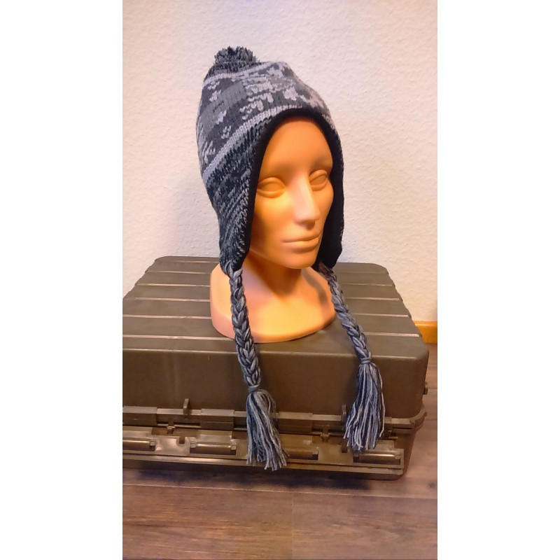 "Hat, ""Peru Cusco"", with fleece, grey/anthracite"
