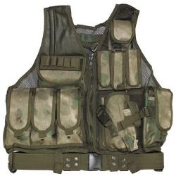 "Vest, ""USMC"", with belt, holster, HDT camo FG"