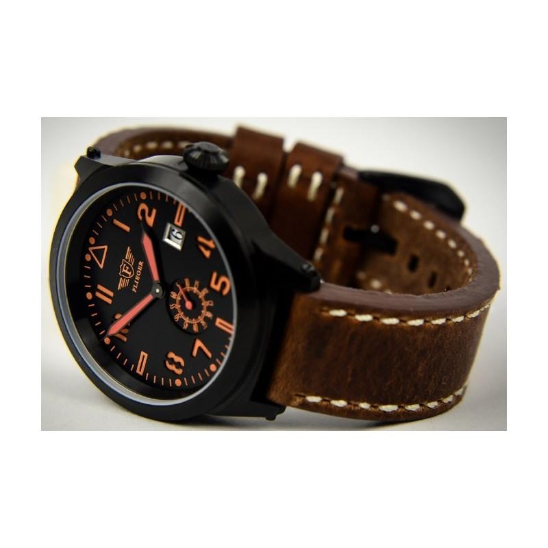 Watch Flieger, brown