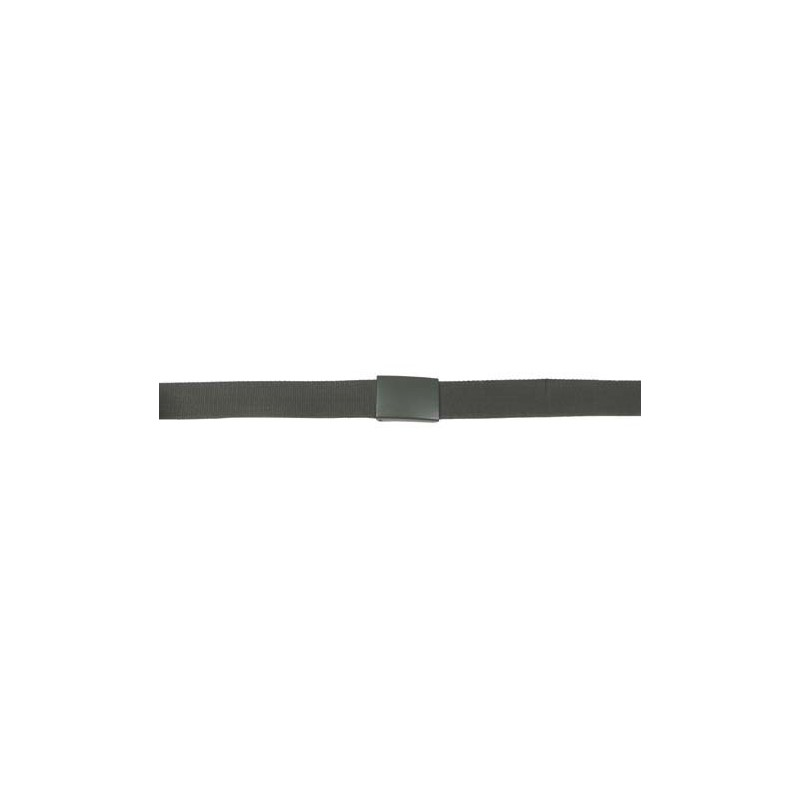 Bundeswehr belt, with buckle, OD green