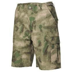 Lühikesed püksid U.S. BDU Bermuda, HDT camo green