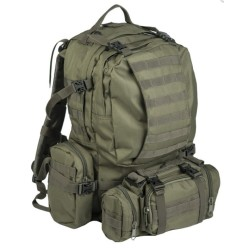 Seljakott Defense pack assembly 36L, oliivroheline