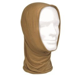 Multifunctional headwear, coyote tan