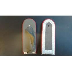 Pagunid - Hõbe, punase äärega hallil taustal 2