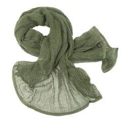 Шарф, сетка, О.Д. зеленый, 190x90cm