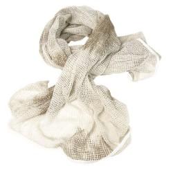 Scarf, mesh, white 190x90cm