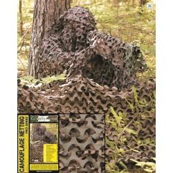 Maskeerimisvõrk PRO 2,4x3,0 m metsalaiku