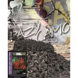 Maskeerimisvõrk PRO 2,4x3,0 m crazy camo