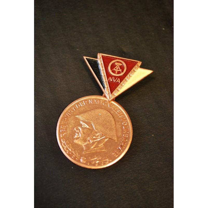 NVA East german reservist badge