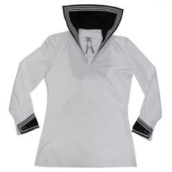 Bundeswehr navy shirt, white