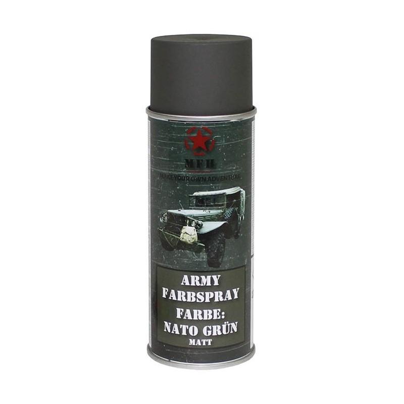 Army Spray Paint, NATO green, 400 ml