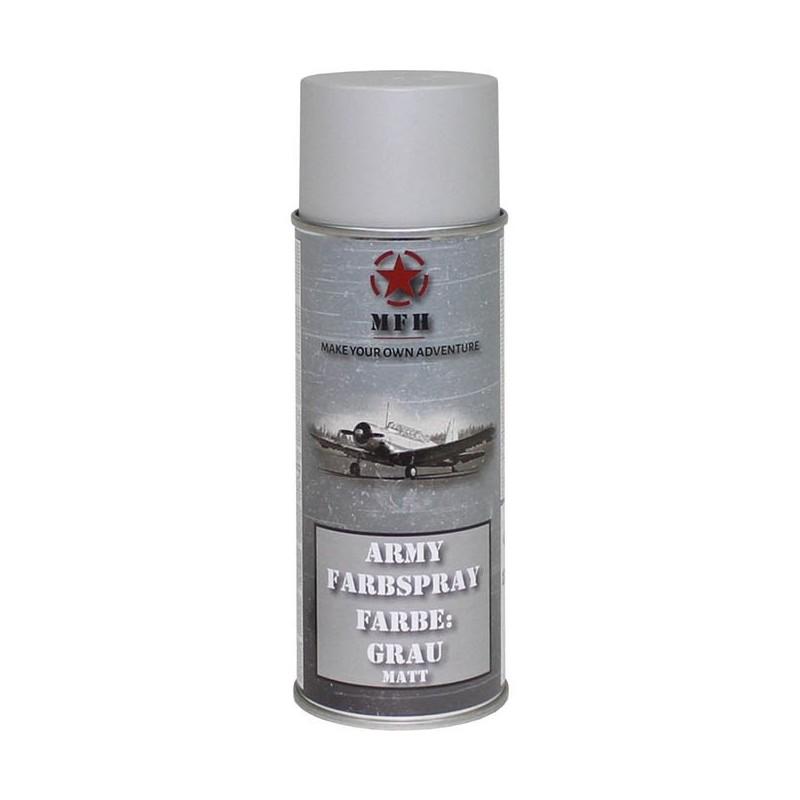Army Spray Paint, grey mat, 400 ml