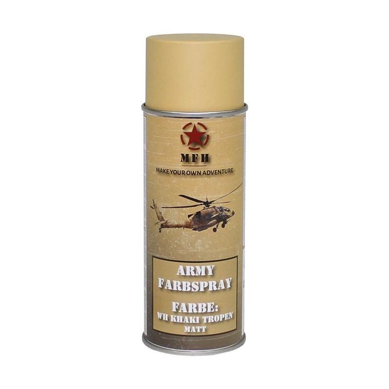 Army Spray Paint, WH Khaki tropen mat, 400 ml