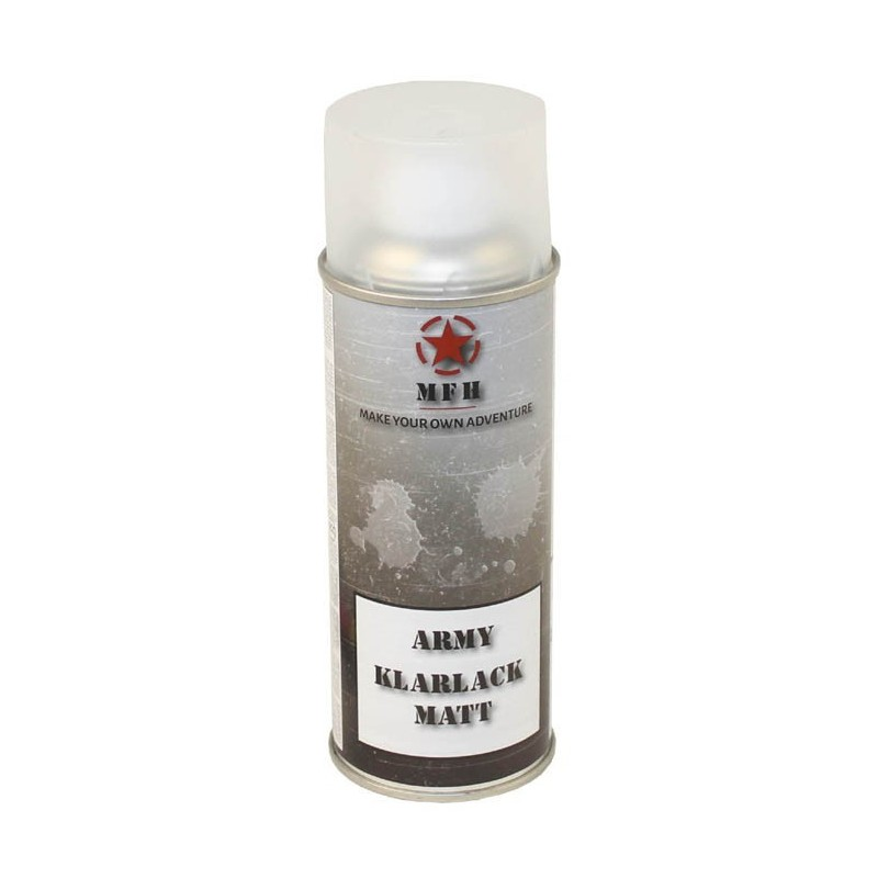Army Spray Paint, Clear coat, 400 ml