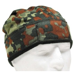 Bundeswehr Hat, fleece, bw camo