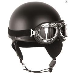 Мотоцикл шлем черный яичной скорлупы