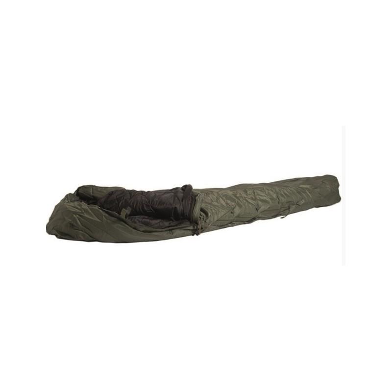 US style 2-pcs modular Sleeping Bag, OD green