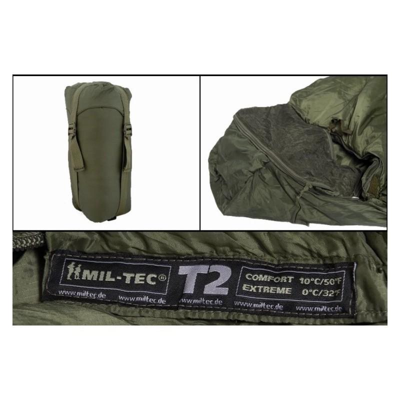 Tactical 2 (T2) Sleeping Bag, od green