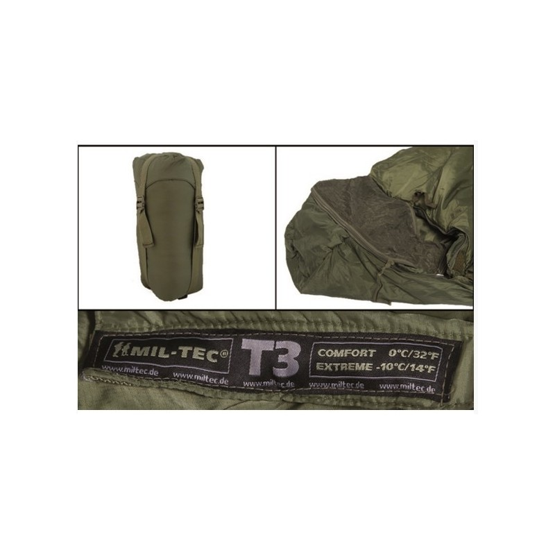 Tactical 3 (T3) Sleeping Bag, od green