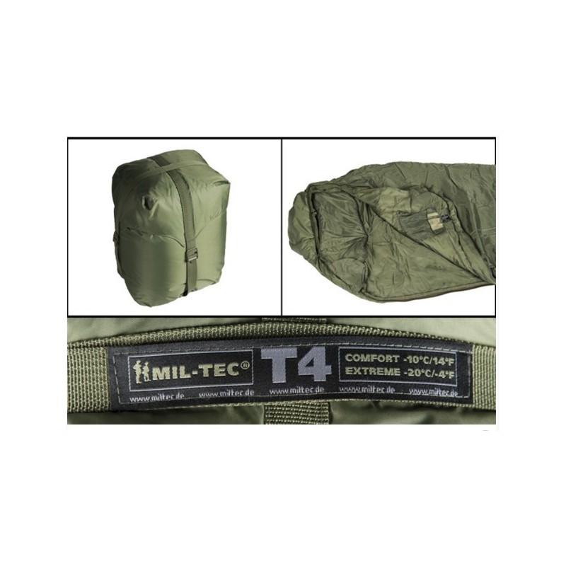 Tactical 4 (T4) Sleeping Bag, od green
