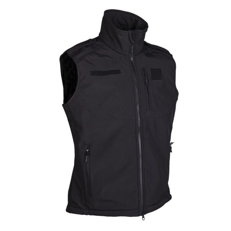 Softshell vest, black