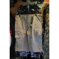 Air Combat 3/4 lühikesed püksid khaki