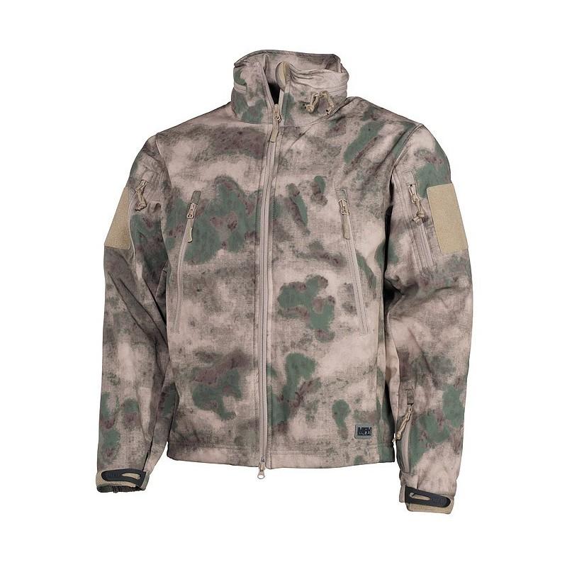 "Soft Shell Jacket, HDT camo green, ""Scorpion"""