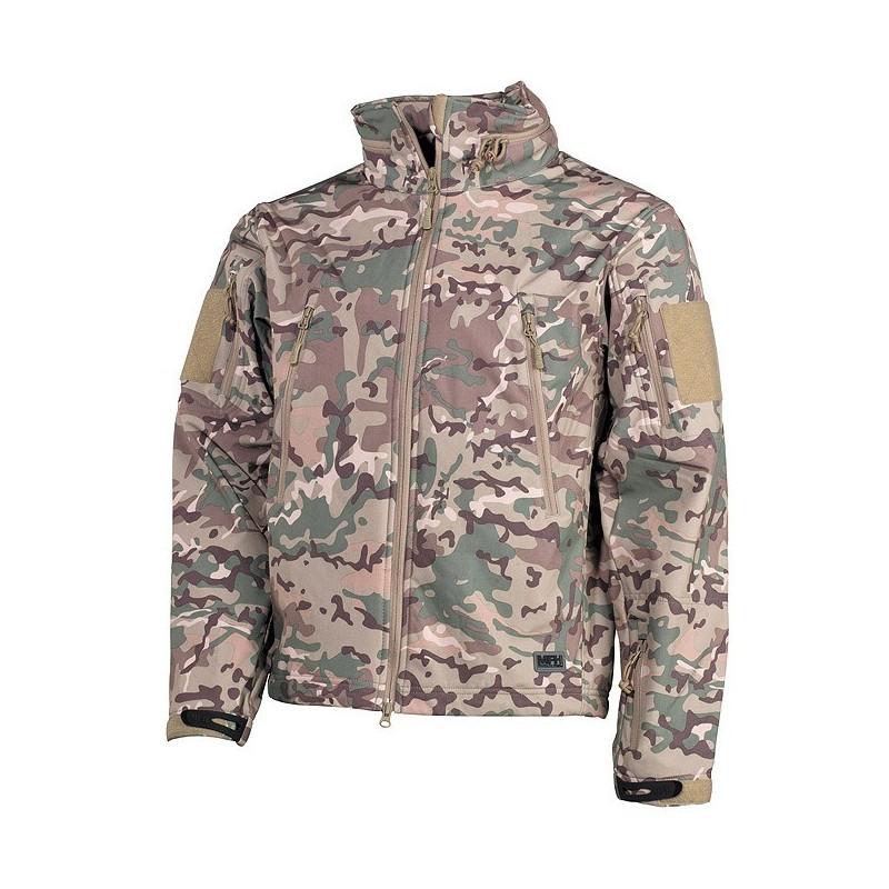 "Soft Shell Jacket, operation camo, ""Scorpion"""