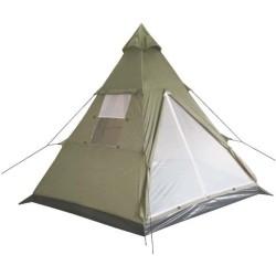 """Индийский Палатка, """"Типи"""", ОП зеленый"""