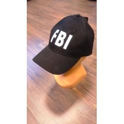 "Pesaballi nokamüts kirjaga ""FBI"" - reguleeritav"
