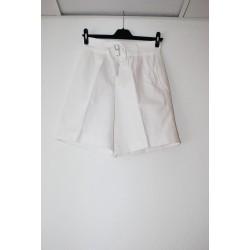 Itaalia mereväe lühikesed bermuda püksid, valge, väiksed suurused