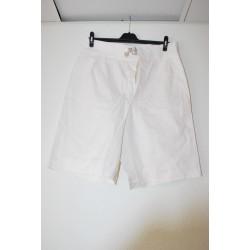 Itaalia mereväe lühikesed bermuda püksid, valge