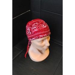 Головной платок, Пейсли-темно-красный